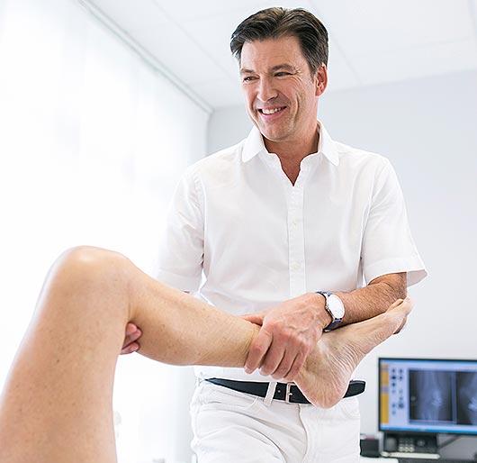 Das Prinzip einer Knie-Total-Endoprothese (TEP)